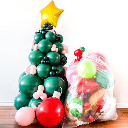 Christmas Edition Balloon Surprise Bag