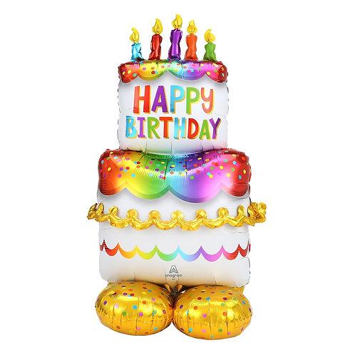 Birthday Cake  Balloon Sculpture