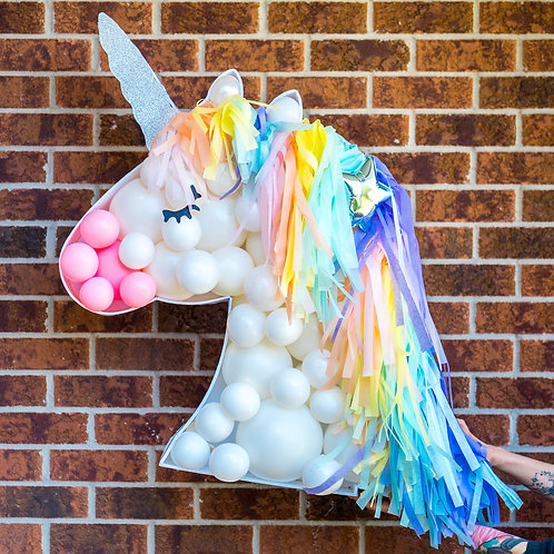 Unicorn Balloon Mosaic - Choose your Colors