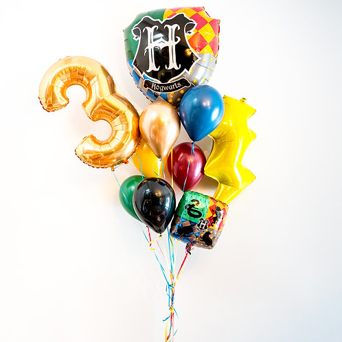 Harry Potter - Birthday Helium Balloon Bouquet