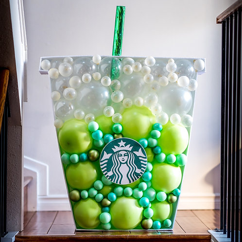 Matcha Green Tea Balloon Mosaic - Choose your Colors