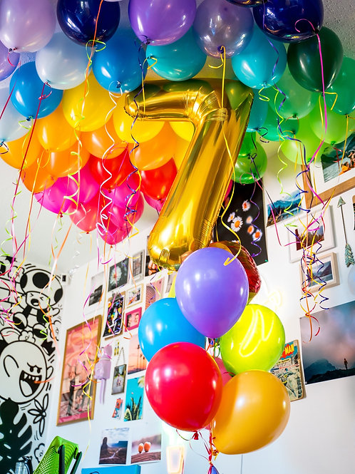 Ceiling Balloons - Pick Your Colors