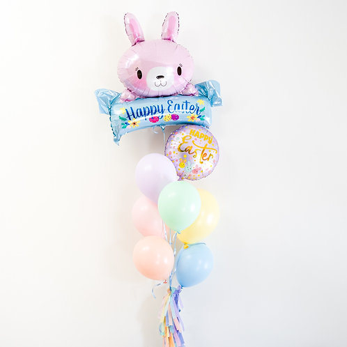 Pastel Easter Helium Balloon Bouquet