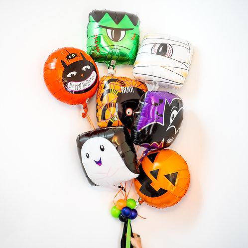 Halloween Monster Balloon Bouquet