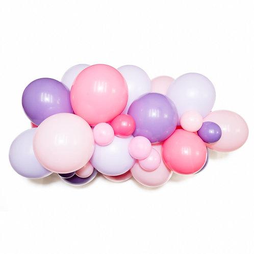 Princess Balloon Garland (Ready to Hang)
