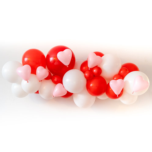 Valentines Balloon Garlands (Ready to Hang)
