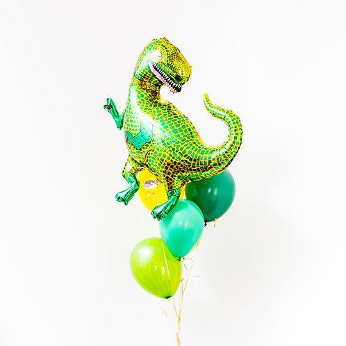 Dinosaur Helium Balloon Bouquet