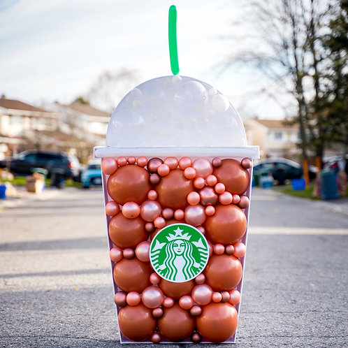Frozen Coffee Balloon Mosaic - Choose your Colors