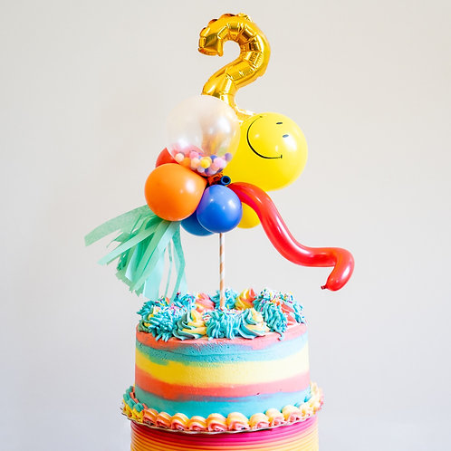 Birthday Fun Cake Topper (INFLATED)