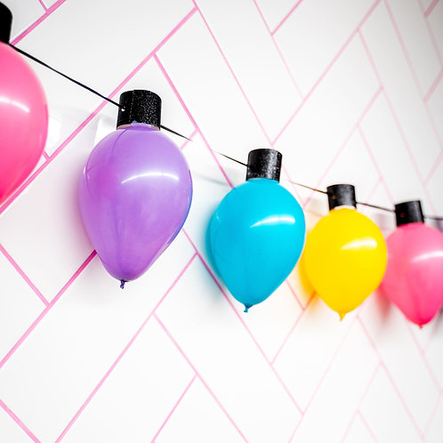 Christmas Light Garland  - Choose Your Colors