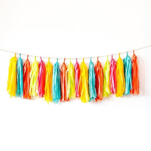 Fiesta Tassel Garland Balloon Tail