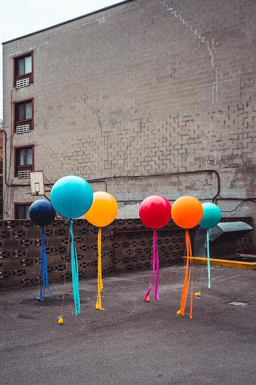 Jumbo Tassel Helium Balloon - Choose Your Colours