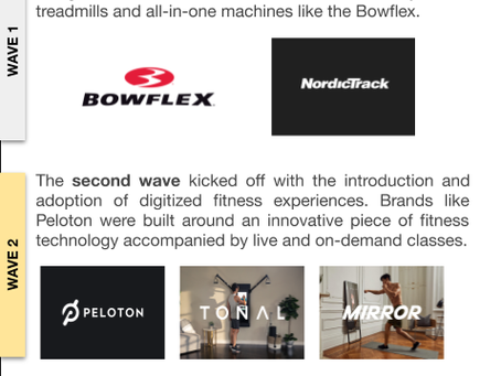 Three Waves of In-Home & On-Demand Fitness Screenshot Essay