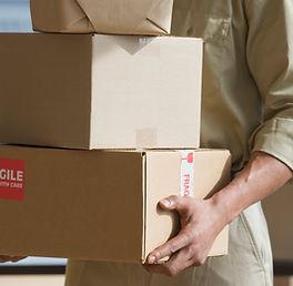Holding-caselle di consegna a mani-