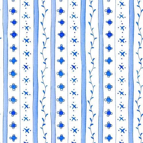 Delft Blue Stripe