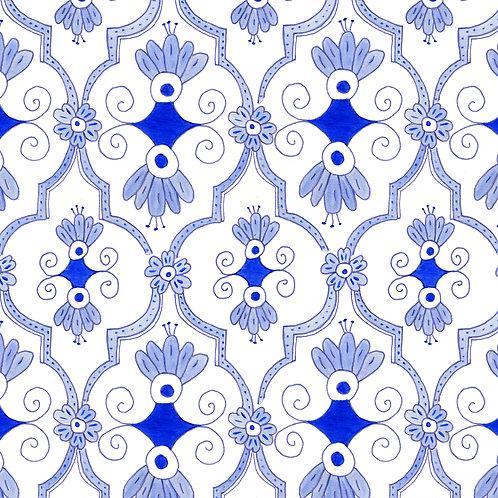 Delft Blue Lattice