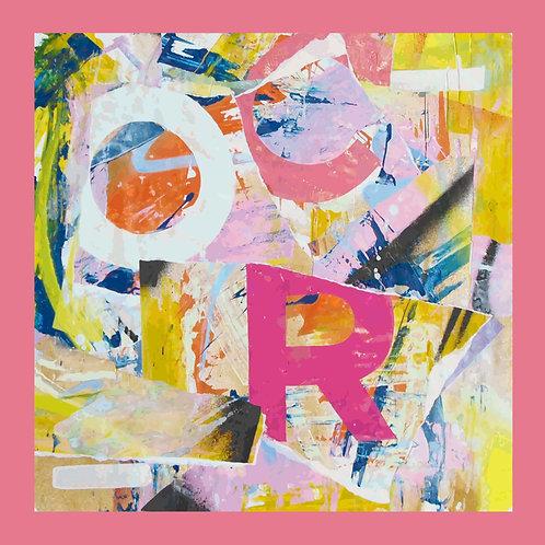 Ian McCallum Silk Scarf Pink