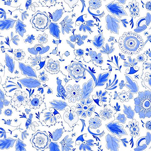 Delft Blue Botanical