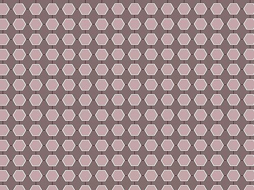 Pink Magnolia Geometric