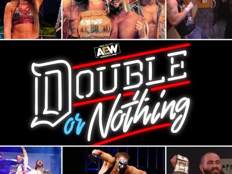 Wrestling Recap 11: AEW Double or Nothing 2021