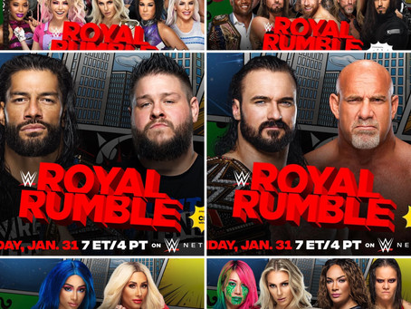 Wrestling Recap 09: WWE Royal Rumble 2021
