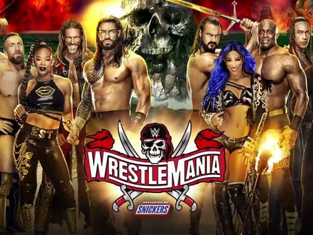 Wrestling Recap 10: WWE WrestleMania 37