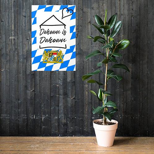 Dahoam is Dahoam (Poster)
