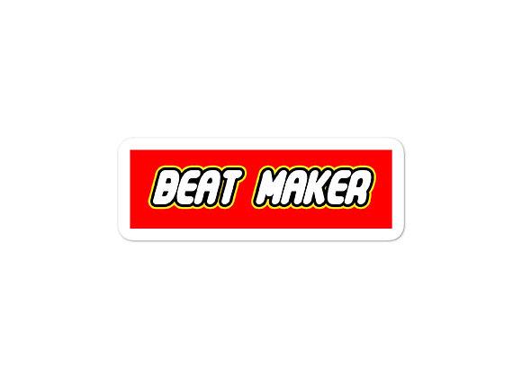 Beat Maker [LEGO Parody Sticker]