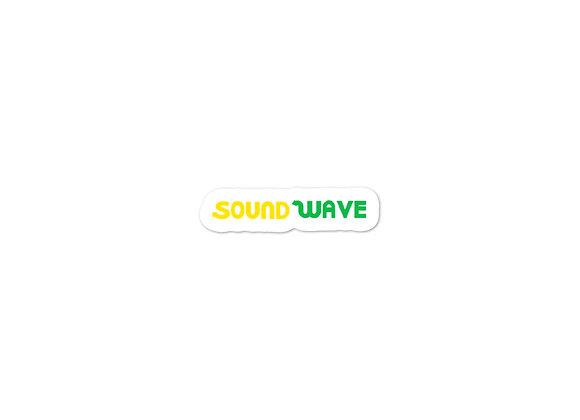 Sound wave [Subway Parody Sticker 01]