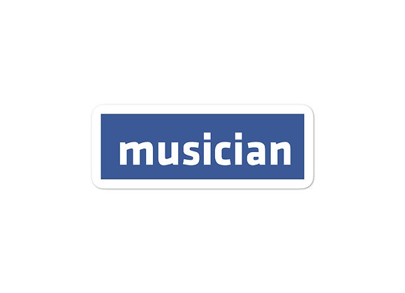 musician [Facebook Parody Sticker]