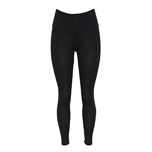 Plain High Waist Brushed Thermal Legging 436