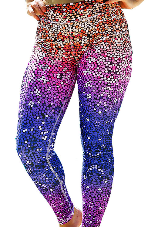 Yoga Running Fitness Fashion Quality Digital Print Pattern Leggings 2013