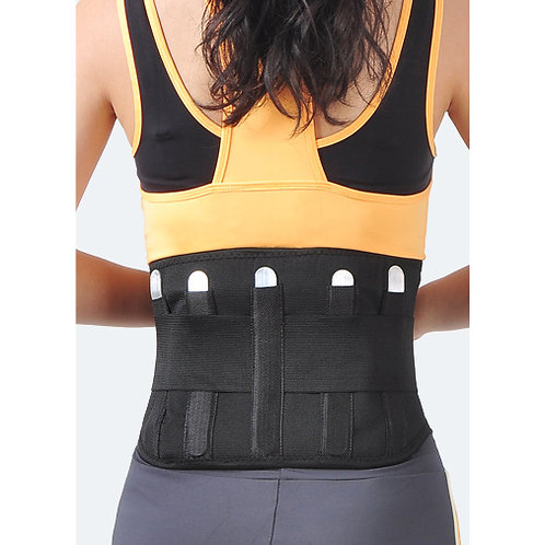 Self Heating Metal Support Healthy Waist Belt Removable pad
