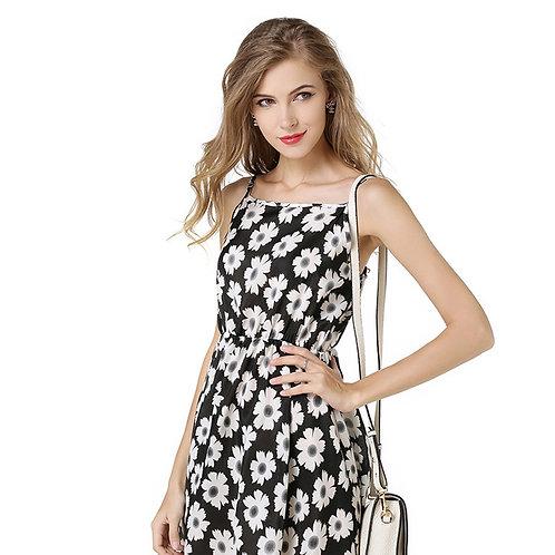 Daisy Summer Sleeveless Strappy Dress  1135