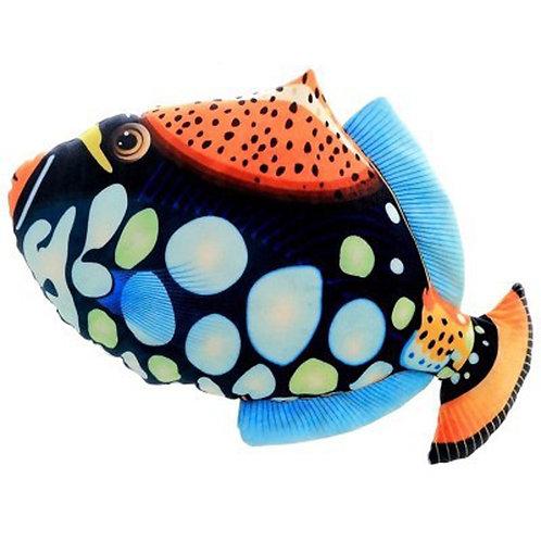3D Fish Throw Pillows Cushions 3888 Fish with dots