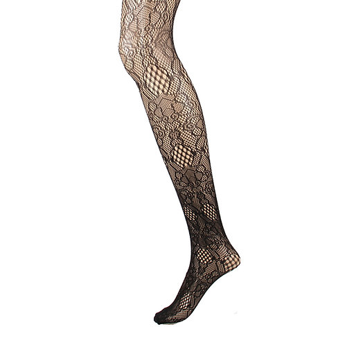 Fishnet Net Pattern Jacquard Pantyhose Tight 1128