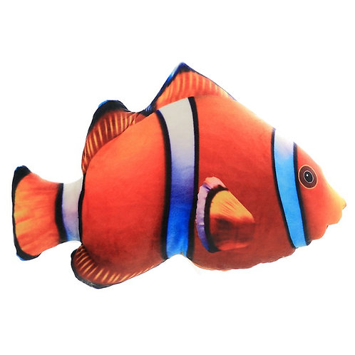 3D Fish Throw Pillows Cushions 3888 Nemo Fish