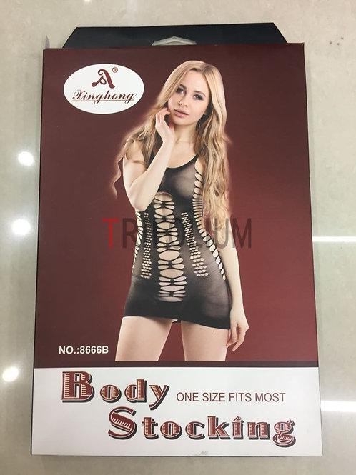6 pieces Sexy Lingerie Net Fishnet body Stocking Babydoll 8666B