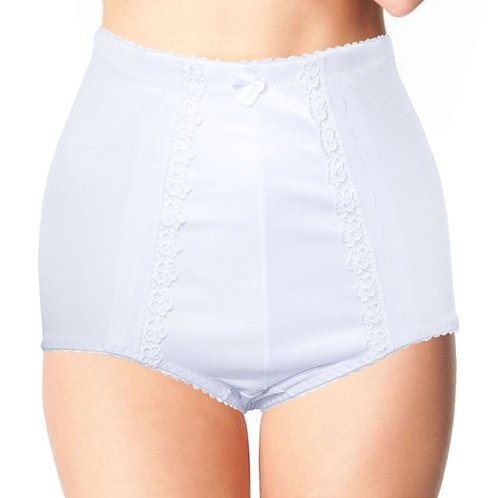 3 in a Pack Silky High Waist Control Knickers Plus Size 5003