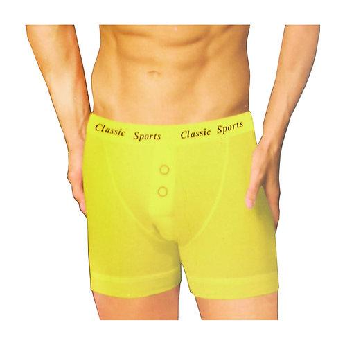 1 dozen Mens Classic Neon Plain Boxer Shorts CS65N