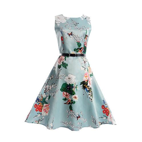 11 style Pattern Summer Sleeveless Dress 6224-style 02