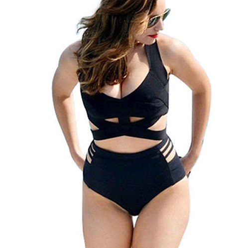 Sexy Swim Wear Costume Bandage Plus Size 8087
