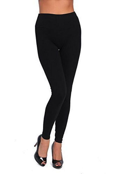 WOMENS COTTON LEGGING BLACK LG8109