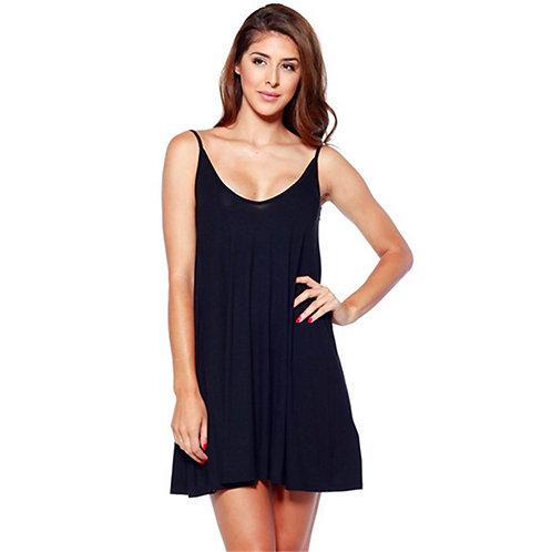 SUMMER STRAPPY MINI SWING DRESS 8502