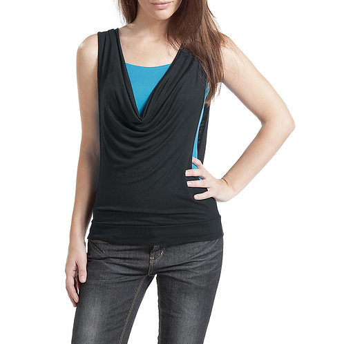 Stylish Sleeveless Top Cami Vest Separable Plus Size 9276
