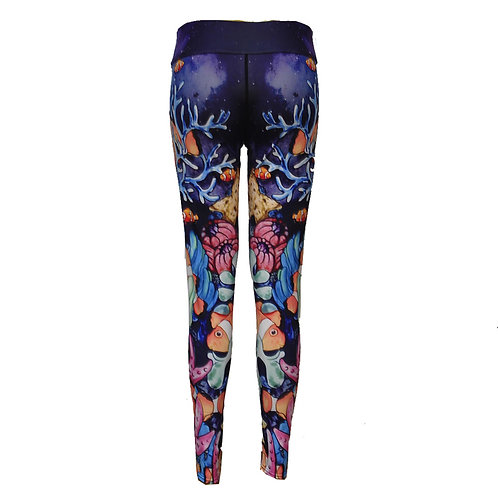 Yoga Running Fitness Fashion Quality Digital Print Pattern Leggings 2001