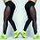 Thumbnail: Black Running Fitness Yoga Leggings Athletic Trousers 8022