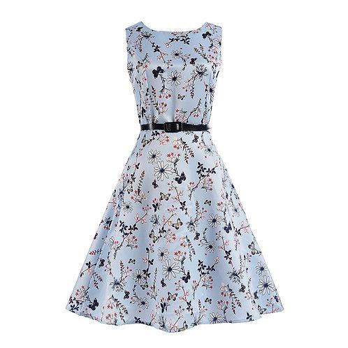 11 style Pattern Summer Sleeveless Dress 6224-style 11