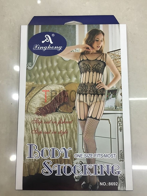 6 pieces Sexy Lingerie Net Fishnet body Stocking Babydoll 8692