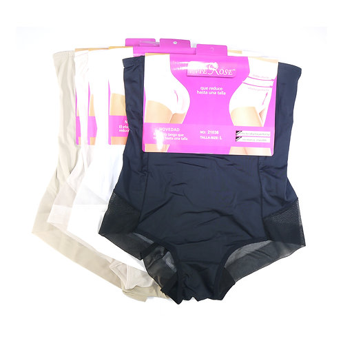 1 dozen Invisible High Waist See Thought Control Knickers 21036